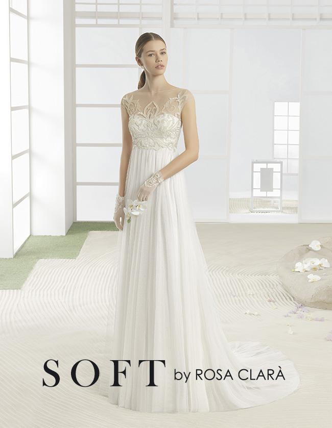 abiti da sposa 2017 SOFT BY ROSA CLARA'
