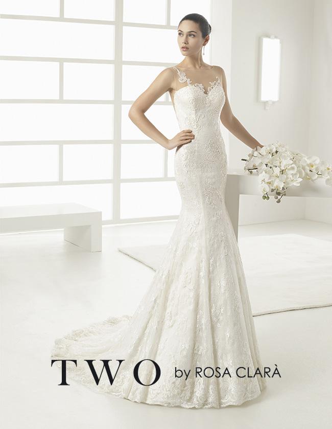 La collezione di abiti da sposa Two di Rosa Clarà per il 2017 comprende  creazioni sofisticate e chic di tendenza moda. 3be5ecbe13e