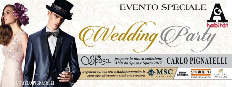 30/10 Wedding Party Habitat Azzarito 1