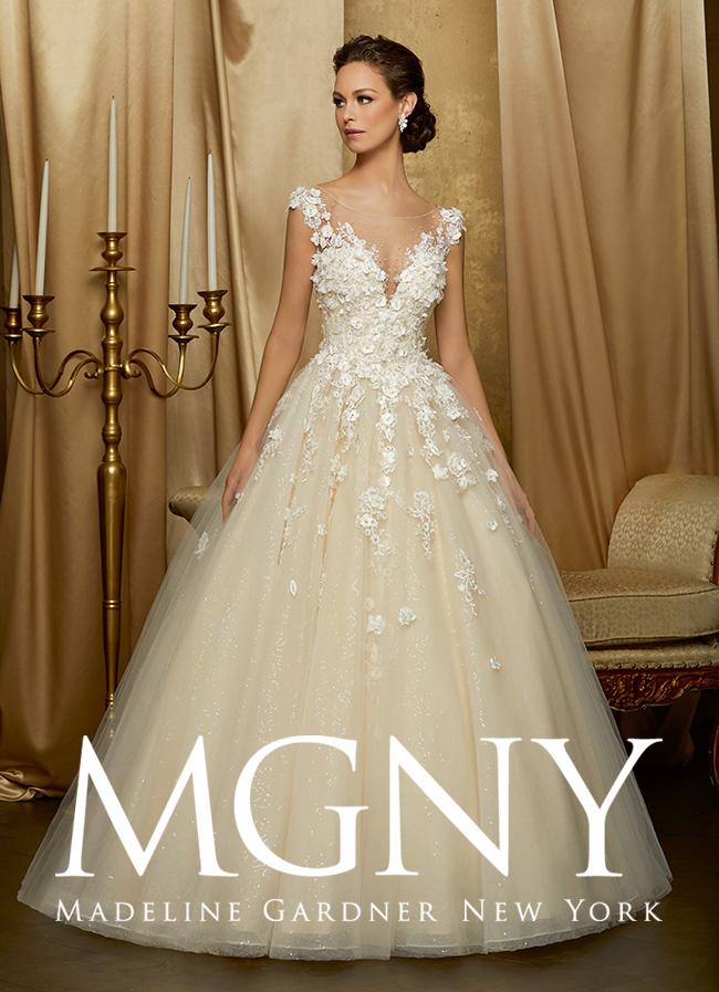 Preferenza Collezione abiti d sposa Madeline Gardner New York 2016 JC39