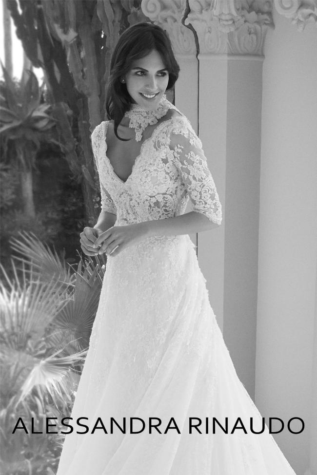1f9bed38d743 Collezione Abiti da Sposa Alessandra Rinaudo 2018