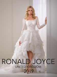 8b6c56a5c876 abito-da-sposa-ronald-joyce-2019-COVER RONALD JOYCE