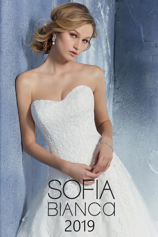 5188b4a32619 Collezione Abiti da Sposa Sofia Bianca 2019