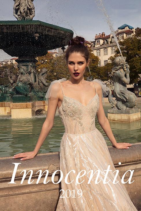 8159a913527e Collezione Abiti da Sposa Innocentia 2019