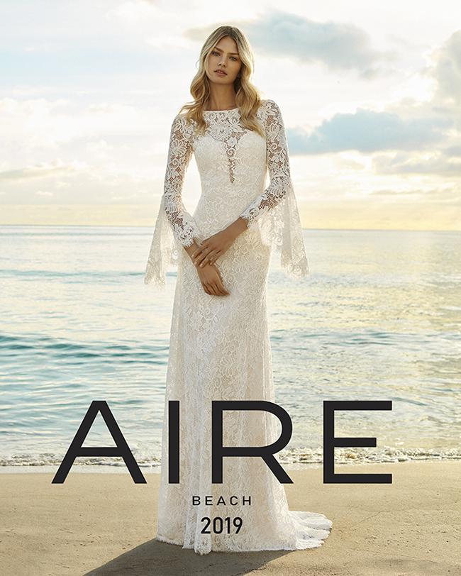 ad67e9a2e1da Collezione Abiti da Sposa Aire Beach 2019