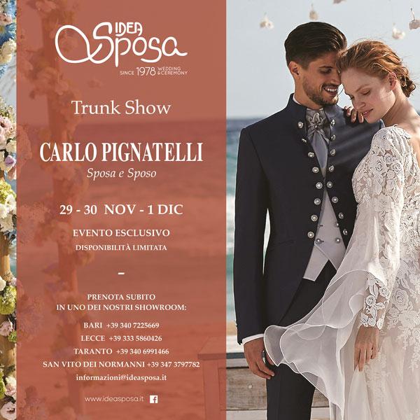 Trunk Show Pignatelli da Idea Sposa