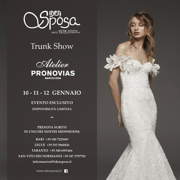 Trunk Show Atelier Pronovias