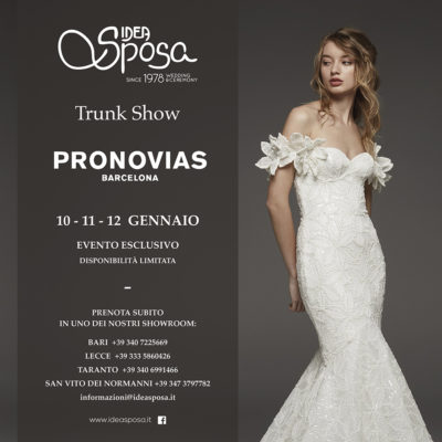 Trunk Show Pignatelli