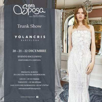 Trunk show YOLANCRIS