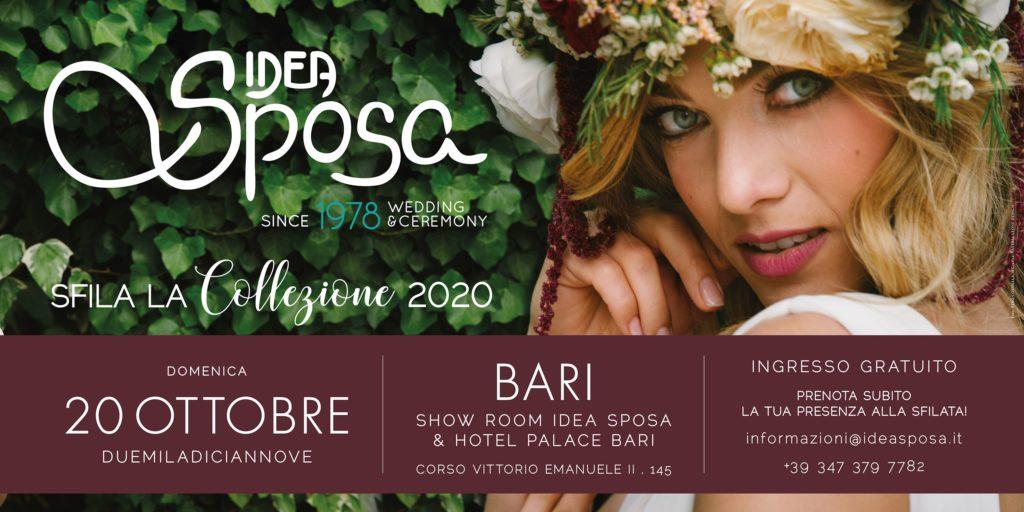 Sfilata a Bari abiti da sposa 2020