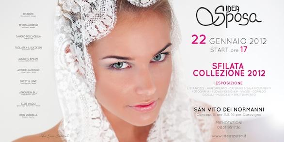 sfilata sposa, sposo e cerimonia delle collezioni 2012