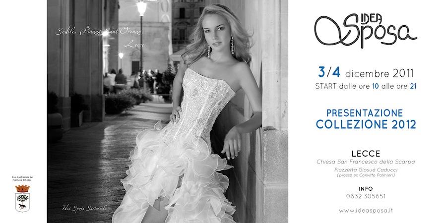 Sfilata per presentazione Collezione Idea Sposa 2012 a Lecce